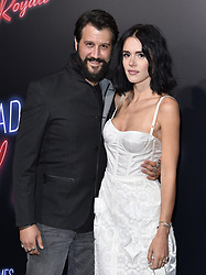 """Premiere of """"Bad Times at the El Royale"""". TCL Chinese Theatre, Hollywood, California. 22 Sep 2018 Pictured: Stefan Kapicic,Ivana Horvat. Photo credit: AXELLE/BAUER-GRIFFIN / MEGA TheMegaAgency.com +1 888 505 6342"""