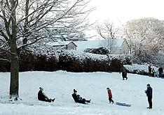 Snow fun, West Lothian, 29 December 2020