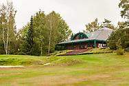 21-09-2015: Golf Resort Karlovy Vary in Karlovy Vary (Karlsbad), Tsjechië.<br /> Foto: Clubhuis en 18de green