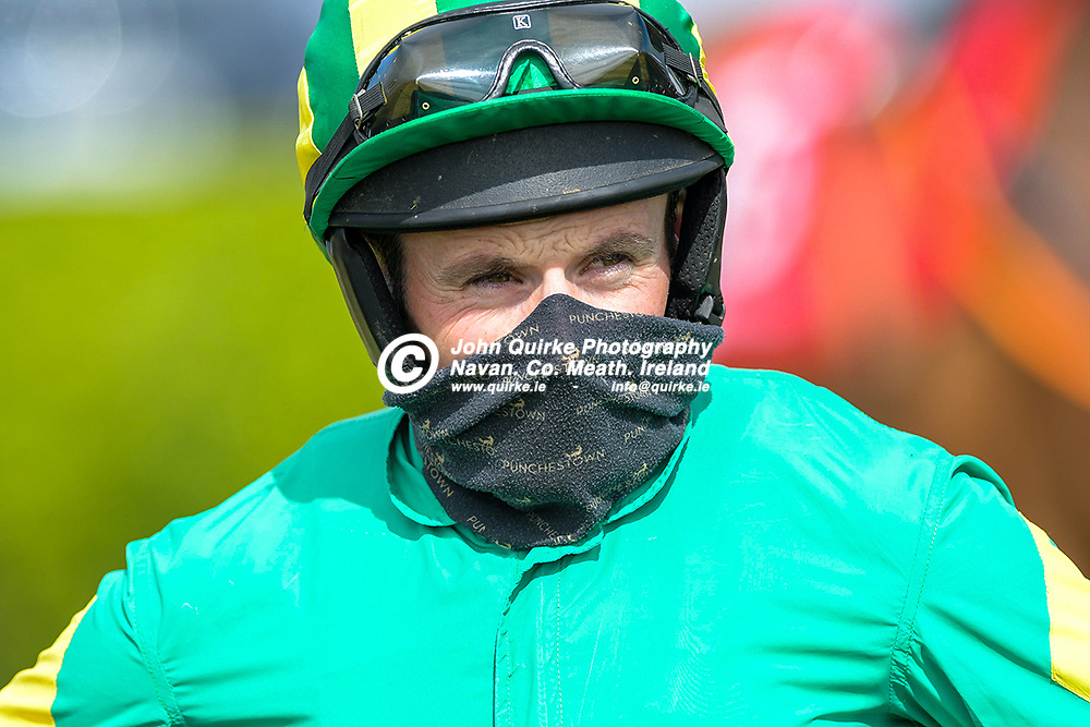 Jockey, Sean Flanagan,  at Bellewstown Races.<br /> <br /> Photo: GERRY SHANAHAN-WWW.QUIRKE.IE<br /> <br /> 03-07-2021