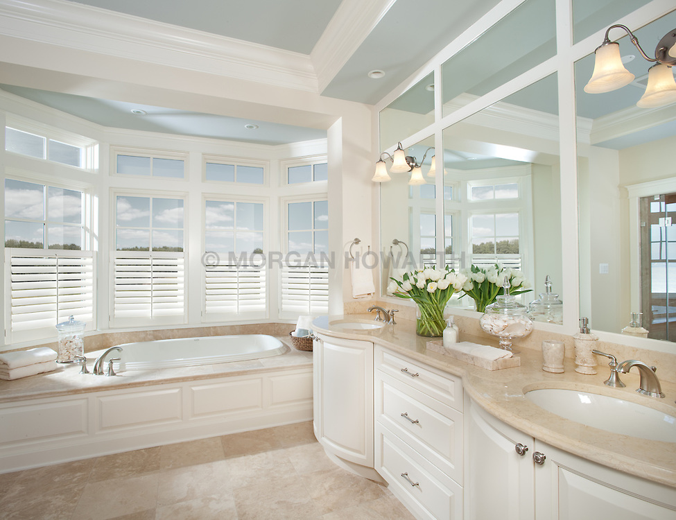 5455 Tates Bank Rd Cambridge, MD Kristen Peakes interor designer Master Bathroom