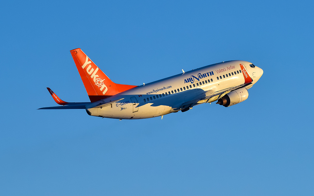 C-GANH flies off into the sunset