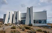 Glaciarium Patagonian Ice Museum. El Calafate, Santa Cruz Province, Argentina, Patagonia, South America.