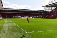 A general view of Ashton Gate Stadium, home of Bristol City Football Club before the EFL Cup match between Bristol City and Exeter City at Ashton Gate, Bristol, England on 5 September 2020.