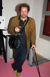 MIKE FIGGIS at a dinner hosted by Harpers Bazaar to celebrate the launch of the fragrance Flowerbomb by Viktor & Rolf held at Elms lester, Flitcroft Street, London WC2 on 31st May 2006.<br /><br />NON EXCLUSIVE - WORLD RIGHTS