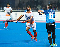 BHUBANESWAR -  Hockey World League finals , Semi Final . Argentina v India. Varun Kumar (Ind).  COPYRIGHT KOEN SUYK
