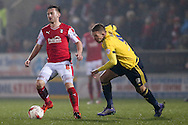 Rotherham United midfielder Lee Frecklington (8)  during the Sky Bet Championship match between Rotherham United and Middlesbrough at the New York Stadium, Rotherham, England on 8 March 2016. Photo by Simon Davies.