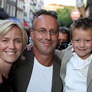 NLD/Amsterdam/20080901 - Premiere film Bikkel over het leven van Bart de Graaff, zus Mirjam, partner en zoon Bikkel