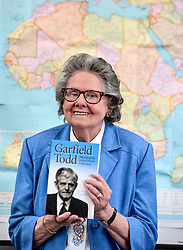 Author Susan Woodhouse launched her biography of former Rhodesian Prime Minister Garfield Todd. She was the secretary for and friend of the Southern African politician.<br /> <br /> © Dave Johnston/ EEm