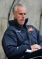 Photo. Andrew Unwin.<br /> Sunderland v Leicester City, Coca-Cola Championship, Stadium of Light, Sunderland 23/04/2005.<br /> Sunderland's manager, Mick McCarthy looks thoughtful as his team push for promotion.