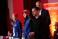 Blaz Repinc during press conference of Slovenian Nordic Ski Cross country team before new season 2019/20, on Novamber 12, 2019, in Petrol, Ljubljana, Slovenia. Photo Grega Valancic / Sportida
