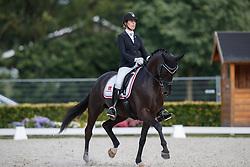 Krüth Carina Cassöe, DEN, Heiline s Danciera<br /> Longines FEI/WBFSH World Breeding Dressage Championships for Young Horses - Ermelo 2017<br /> © Hippo Foto - Dirk Caremans<br /> 04/08/2017