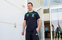12/05/16   <br />   LENNOXTOWN <br />   Celtic manager Ronny Deila leaves the club