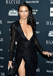 Model Adriana Lima attends the Harper's Bazaar Icons by Carine Roitfeld celebration at The Plaza Hotel in New York, NY on September 8, 2017.  (Photo by Stephen Smith/SIPA USA)