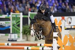 Whitaker William, GBR, Utamaro d Ecaussines<br /> Jumping Indoor Maastricht 2016<br /> © Hippo Foto - Dirk Caremans<br /> 12/11/2016