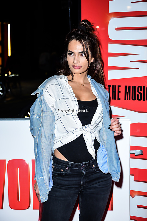 Nicole Bass Arrivals at Pretty Woman The Musical press night at Piccadilly Theatre on 2nd March 2020, London, UK.