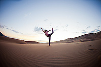 Minhee Cha at the Great Sand Dunes, COLORADO
