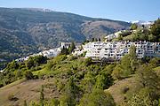 Whitewashed village of Capileira, High Alpujarras, Sierra Nevada, Granada province, Spain