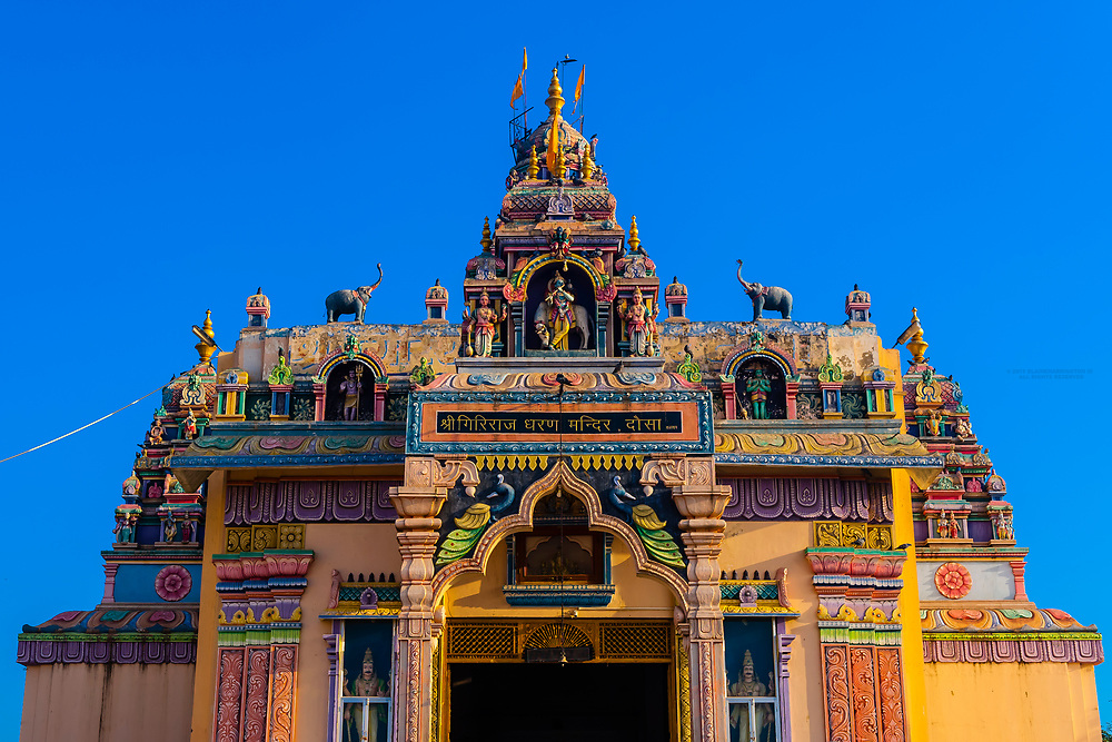 A Hindu temple in Tusa, Rajasthan (between Jaipur and Agra), India.