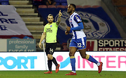 Jack Marriott of Peterborough United appeals against the decision to rule out a late goal - Mandatory by-line: Joe Dent/JMP - 13/01/2018 - FOOTBALL - DW Stadium - Wigan, England - Wigan Athletic v Peterborough United - Sky Bet League One