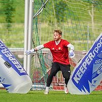 02.07.2019; Rottach-Egern; Fussball Super League; Trainingslager FC Basel; Torhueter Jonas Omlin (Basel) (Andy Mueller/freshfocus)
