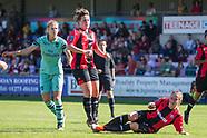 Lewes FC Women vs Arsenal FC Ladies  16-09-2018. 160918