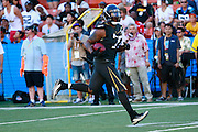 January 31 2016: Team Irvin Michael Bennett runs in for a touchdown that would be called back during the Pro Bowl at Aloha Stadium on Oahu, HI. (Photo by Aric Becker/Icon Sportswire)