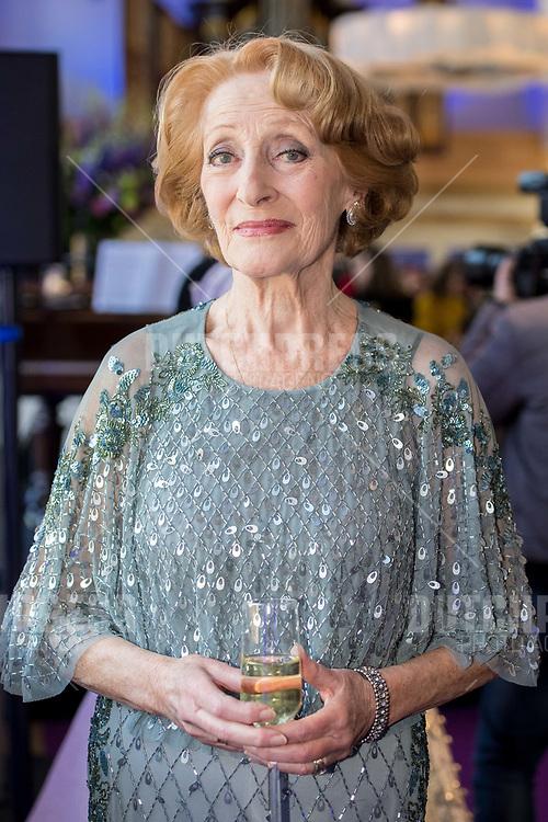 Gerrie van der Klei tijdens de presentatie van de musical Anastasia in de Hermitage in Amsterdam
