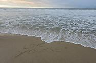 Love Yourself, Sagg Main Beach, Sagaponack, Long Island, NY