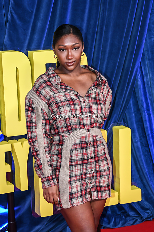 """Isan Elba attended """"The Harder They Fall"""" Opening Night Gala - 65th BFI London Film Festival, Southbank Centre, London, UK. 6 October 2021."""