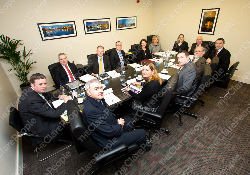 05.02.13<br /> McKeogh Gallagher Ryan Accountants, based in Shannon Street, hosted the inaugural meeting of the Limerick-China Forum. Chaired by former mayor Cllr. Jim Long it brought representatives from the business, education, hospitality and transport sectors together formulating strategies to enhance the region's ties with China and identify mutual opportunities.<br /> Pic. Alan Place / Press 22