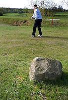 HAVELTE - Golf Club Havelte. 150meter  markering dmv kei.COPYRIGHT KOEN SUYK