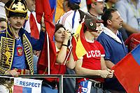 GEPA-1006085933 - INNSBRUCK,AUSTRIA,10.JUN.08 - FUSSBALL - UEFA Europameisterschaft, EURO 2008, Spanien vs Russland, ESP vs RUS. Bild zeigt Fans von Russland.<br />Foto: GEPA pictures/ Oskar Hoeher