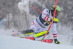 Michael Matt (AUT) during 1st run of Men's Slalom race of FIS Alpine Ski World Cup 57th Vitranc Cup 2018, on March 4, 2018 in Kranjska Gora, Slovenia. Photo by Ziga Zupan / Sportida