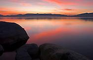 Sunrise over South Lake Tahoe, CA. ©Brett Wilhelm