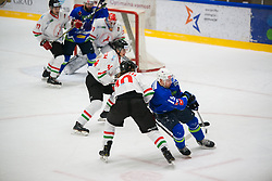 Ziga Pance during international tournament Euro ice hockey challenge on a friendly game with Hungary, on February 7, 2019 in Bled, Slovenia. Photo by Peter Podobnik / Sportida