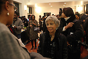6 January 2011- Harlem, New York- Ruby Dee at the Opening for The State of African American and African Diaspora Studies Conference held at the The Schomburg Center for Research in Black Culture on January 6, 2011 in the Village of Harlem. Photo Credit Terrence Jennings