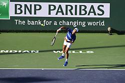 March 8, 2019 - Palm Desert, California, Usa - Tennis : BNP Paribas Open 2019 - Novak Djokovic - Serbie (Credit Image: © Panoramic via ZUMA Press)