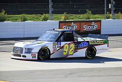 March 23, 2019 - Martinsville, VA, U.S. - MARTINSVILLE, VA - MARCH 23:   #92: Austin Theriault, Ricky Benton Racing Enterprises, Ford F-150, BTS Tire & Wheel Distributors during qualifying for the NASCAR Gander Outdoors Truck Series TruNorth Global 250 race on March 23, 2019 at the Martinsville Speedway in Martinsville, VA.  (Photo by David J. Griffin/Icon Sportswire) (Credit Image: © David J. Griffin/Icon SMI via ZUMA Press)