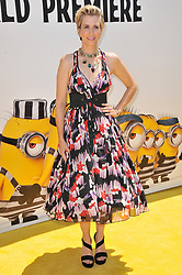 """Kristen Wiig arrives at the """"Despicable Me 3"""" Los Angeles Premiere held at the Shrine Auditorium in Los Angeles, CA on Saturday, June 24, 2017.  (Photo By Sthanlee B. Mirador) *** Please Use Credit from Credit Field ***"""