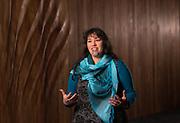 Honiana Love, Kaiāwhina Tumu Whakarae, Ngā Taonga Sound & Vision, June 2020.  Photo credit: Stephen A'Court.