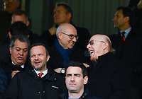 Football - 2018 / 2019 Premier League - Fulham vs. Manchester United<br /> <br /> Manchester United co owner Avram Glazer (right) in the stand, at Craven Cottage.<br /> <br /> COLORSPORT/ASHLEY WESTERN