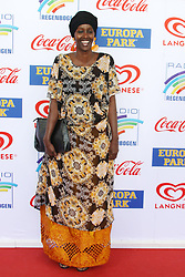 12.04.2019, Europa Park, Rust, GER, Radio Regenbogen Award 2019, im Bild Sonderpreis 2018, Fatuma Musa Afrah (Laudator: Christian Wulff) // during the Radio Rainbow Award at the Europa Park in Rust, Germany on 2019/04/12. EXPA Pictures © 2019, PhotoCredit: EXPA/ Eibner-Pressefoto/ Joachim Hahne<br /> <br /> *****ATTENTION - OUT of GER*****
