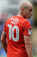 Aaron Mooy of Huddersfield Town looks on. EFL Skybet  championship match, Reading  v Huddersfield Town at The Madejski Stadium in Reading, Berkshire on Saturday 24th September 2016.<br /> pic by John Patrick Fletcher, Andrew Orchard sports photography.