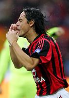 Fotball<br /> Italia Serie A<br /> Foto: Graffiti/Digitalsport<br /> NORWAY ONLY<br /> <br /> Milano 6/11/2005 <br /> Milan Udinese 5-1<br /> <br /> Filippo Inzaghi Milan