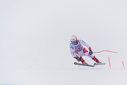 February 9, 2019 - Re, SWEDEN - 190209 Mauro Caviezel of Switzerland competes in the downhill during the FIS Alpine World Ski Championships on February 9, 2019 in re  (Credit Image: © Daniel Stiller/Bildbyran via ZUMA Press)