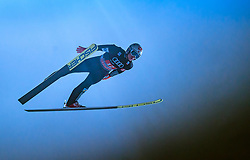 06.01.2018, Paul Außerleitner Schanze, Bischofshofen, AUT, FIS Weltcup Ski Sprung, Vierschanzentournee, Bischofshofen, Finale, im Bild Anders Fannemel (NOR) // Anders Fannemel of Norway during his Competition Jump for the Four Hills Tournament of FIS Ski Jumping World Cup at the Paul Außerleitner Schanze in Bischofshofen, Austria on 2018/01/06. EXPA Pictures © 2018, PhotoCredit: EXPA/ JFK
