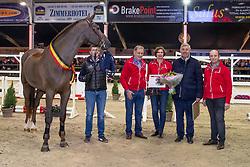 Don VHP Z, Axel Verlooy, Bauters Jozef, .., Kristof De Pauw<br /> BWP hengstenkeuring - Lier 201<br /> © Hippo Foto - Dirk Caremans<br /> 18/01/2019