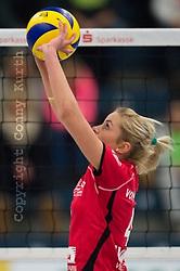 03-12-2014 GER: USC Muenster - SC Potsdam, Munster<br /> Halle Berg Fidel, Muenster Volleyball, DVV-Pokal Frauen, Viertelfinale / Tess von Piekartz (#4 Muenster)<br /> <br /> <br /> ***NETHERLANDS ONLY***
