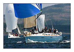 Bell Lawrie Scottish Series 2008. Fine North Easterly winds brought perfect racing conditions in this years event...Class 2 GBR593R Duckwall Pooley First 42.7